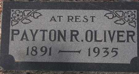 OLIVER, PAYTON R. - Maricopa County, Arizona | PAYTON R. OLIVER - Arizona Gravestone Photos