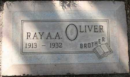 OLIVER, RAY ARON ANDERSON - Maricopa County, Arizona | RAY ARON ANDERSON OLIVER - Arizona Gravestone Photos