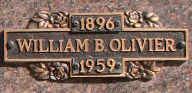 OLIVIER, WILLIAM B - Maricopa County, Arizona | WILLIAM B OLIVIER - Arizona Gravestone Photos