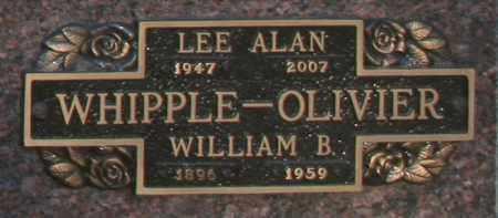 OLIVIER, WILLIAM B - Maricopa County, Arizona | WILLIAM B OLIVIER - Arizona Gravestone Photos