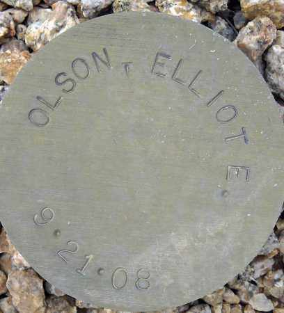 OLSON, ELLIOT E. - Maricopa County, Arizona | ELLIOT E. OLSON - Arizona Gravestone Photos
