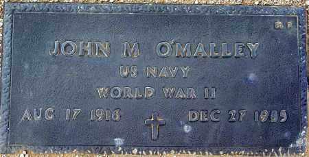 O'MALLEY, JOHN M. - Maricopa County, Arizona | JOHN M. O'MALLEY - Arizona Gravestone Photos