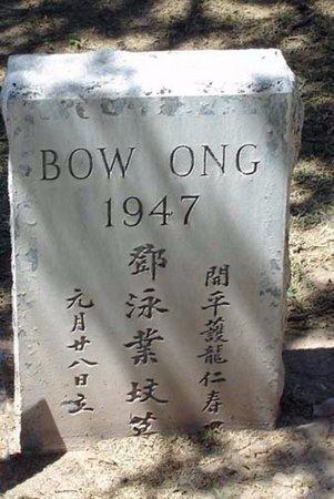 ONG, BOW - Maricopa County, Arizona | BOW ONG - Arizona Gravestone Photos
