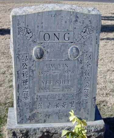 ONG, SHEE - Maricopa County, Arizona | SHEE ONG - Arizona Gravestone Photos