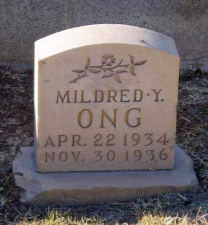 ONG, MILDRED Y. - Maricopa County, Arizona | MILDRED Y. ONG - Arizona Gravestone Photos