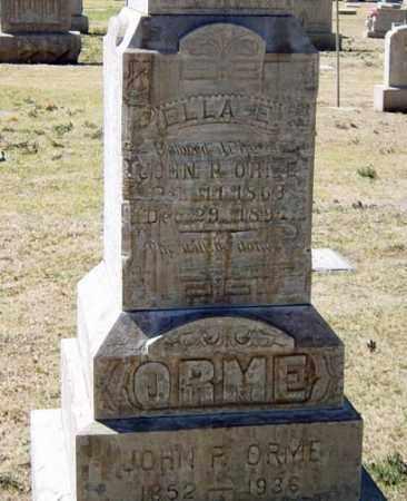 ORME, ELLA E. - Maricopa County, Arizona | ELLA E. ORME - Arizona Gravestone Photos