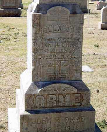 TOMPKINS ORME, ELLA E. - Maricopa County, Arizona | ELLA E. TOMPKINS ORME - Arizona Gravestone Photos
