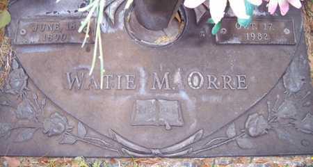 ORRE, WATIE M. - Maricopa County, Arizona | WATIE M. ORRE - Arizona Gravestone Photos