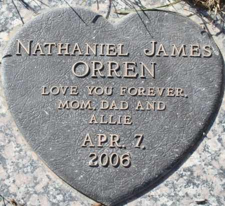 ORREN, NATHANIEL JAMES - Maricopa County, Arizona | NATHANIEL JAMES ORREN - Arizona Gravestone Photos