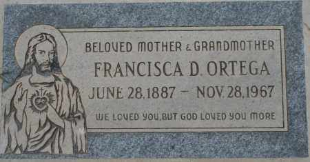 ORTEGA, FRANCISCA D. - Maricopa County, Arizona | FRANCISCA D. ORTEGA - Arizona Gravestone Photos