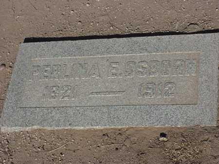 OSBORN, PERLINA E - Maricopa County, Arizona   PERLINA E OSBORN - Arizona Gravestone Photos