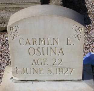OSUNA, CARMEN E. - Maricopa County, Arizona | CARMEN E. OSUNA - Arizona Gravestone Photos