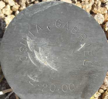 OSUNA, GABRIEL - Maricopa County, Arizona | GABRIEL OSUNA - Arizona Gravestone Photos