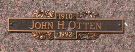 OTTEN, JOHN H - Maricopa County, Arizona | JOHN H OTTEN - Arizona Gravestone Photos