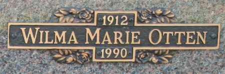 OTTEN, WILMA MARIE - Maricopa County, Arizona | WILMA MARIE OTTEN - Arizona Gravestone Photos