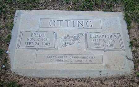 OTTING, ELIZABETH S. - Maricopa County, Arizona | ELIZABETH S. OTTING - Arizona Gravestone Photos