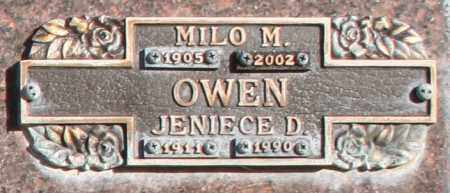 OWEN, MILO M - Maricopa County, Arizona | MILO M OWEN - Arizona Gravestone Photos