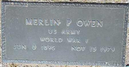 OWEN, MERLIN P. - Maricopa County, Arizona | MERLIN P. OWEN - Arizona Gravestone Photos