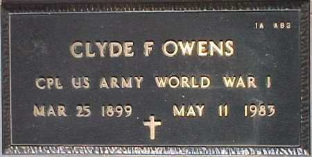 OWENS, CLYDE F. - Maricopa County, Arizona | CLYDE F. OWENS - Arizona Gravestone Photos