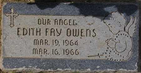 OWENS, EDITH FAY - Maricopa County, Arizona | EDITH FAY OWENS - Arizona Gravestone Photos