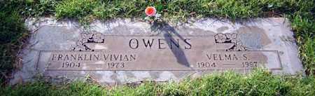 OWENS, FRANKLIN VIVIAN - Maricopa County, Arizona   FRANKLIN VIVIAN OWENS - Arizona Gravestone Photos