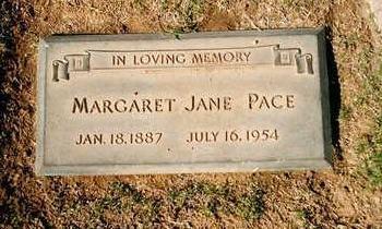 PACE, MARGARET JANE - Maricopa County, Arizona | MARGARET JANE PACE - Arizona Gravestone Photos