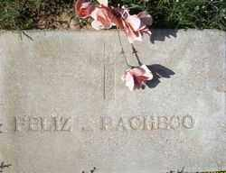 PACHECO, FELIZ - Maricopa County, Arizona | FELIZ PACHECO - Arizona Gravestone Photos