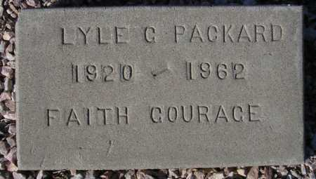 PACKARD, LYLE G. - Maricopa County, Arizona | LYLE G. PACKARD - Arizona Gravestone Photos