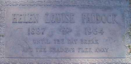 PADDOCK, HELEN LOUISE - Maricopa County, Arizona | HELEN LOUISE PADDOCK - Arizona Gravestone Photos