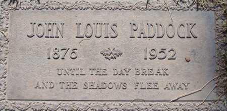 PADDOCK, JOHN LOUIS - Maricopa County, Arizona | JOHN LOUIS PADDOCK - Arizona Gravestone Photos
