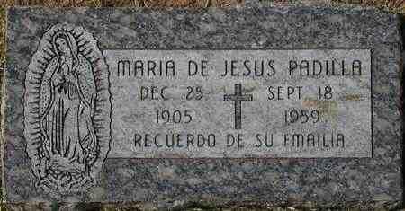 PADILLA, MARIA DE JESUS - Maricopa County, Arizona   MARIA DE JESUS PADILLA - Arizona Gravestone Photos