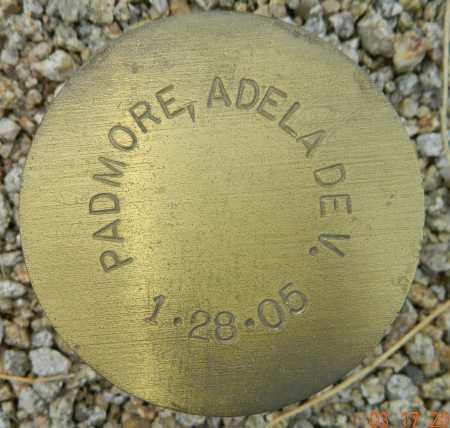 PADMORE, ADELADE V. - Maricopa County, Arizona | ADELADE V. PADMORE - Arizona Gravestone Photos
