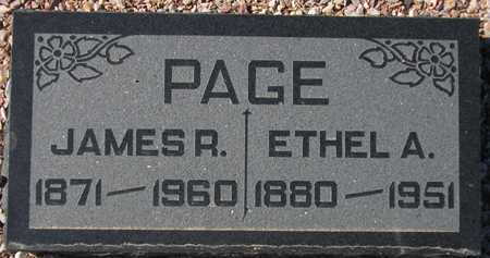 PAGE, ETHEL A. - Maricopa County, Arizona | ETHEL A. PAGE - Arizona Gravestone Photos