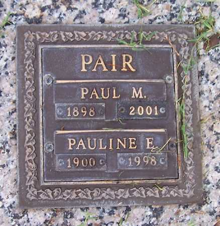 PAIR, PAUL M. - Maricopa County, Arizona | PAUL M. PAIR - Arizona Gravestone Photos
