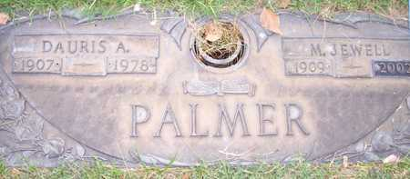 PALMER, DAURIS A. - Maricopa County, Arizona | DAURIS A. PALMER - Arizona Gravestone Photos