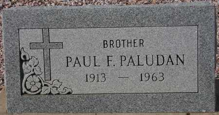 PALUDAN, PAUL F. - Maricopa County, Arizona | PAUL F. PALUDAN - Arizona Gravestone Photos