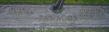 PANAGOS, PETER T. - Maricopa County, Arizona | PETER T. PANAGOS - Arizona Gravestone Photos