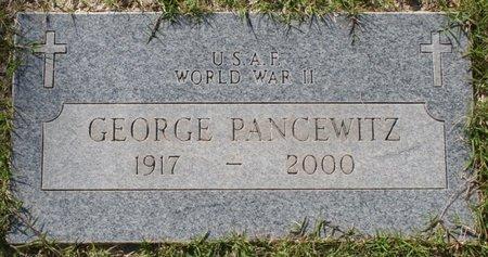 PANCEWITZ, GEORGE - Maricopa County, Arizona | GEORGE PANCEWITZ - Arizona Gravestone Photos