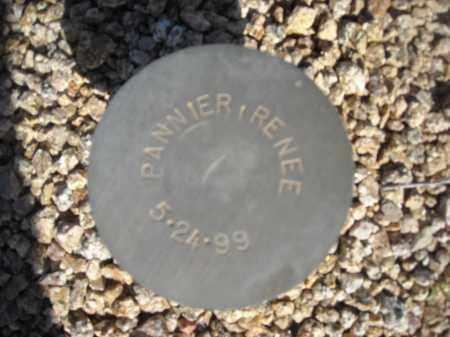 PANNIER, RENEE - Maricopa County, Arizona | RENEE PANNIER - Arizona Gravestone Photos
