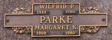 PARKE, MARGARET K - Maricopa County, Arizona | MARGARET K PARKE - Arizona Gravestone Photos