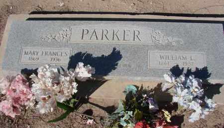 COLLINS PARKER, MARY FRANCES - Maricopa County, Arizona | MARY FRANCES COLLINS PARKER - Arizona Gravestone Photos
