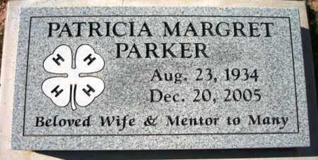 PARKER, PATRICIA MARGRET - Maricopa County, Arizona | PATRICIA MARGRET PARKER - Arizona Gravestone Photos