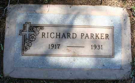 PARKER, RICHARD - Maricopa County, Arizona   RICHARD PARKER - Arizona Gravestone Photos