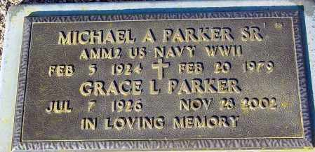 PARKER, GRACE L. - Maricopa County, Arizona | GRACE L. PARKER - Arizona Gravestone Photos