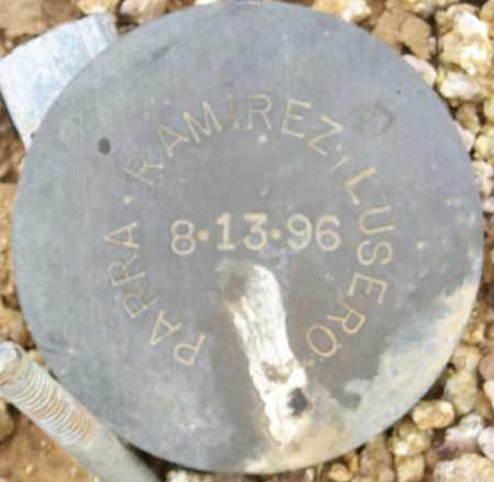 PARRA-RAMIREZ, LUSERO - Maricopa County, Arizona   LUSERO PARRA-RAMIREZ - Arizona Gravestone Photos