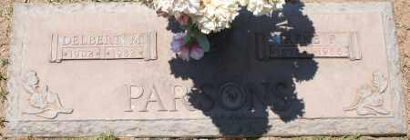 PARSONS, DELBERT M. - Maricopa County, Arizona | DELBERT M. PARSONS - Arizona Gravestone Photos