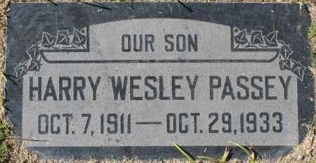 PASSEY, HARRY WESLEY - Maricopa County, Arizona   HARRY WESLEY PASSEY - Arizona Gravestone Photos