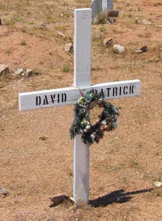 PATRICK, DAVID - Maricopa County, Arizona | DAVID PATRICK - Arizona Gravestone Photos