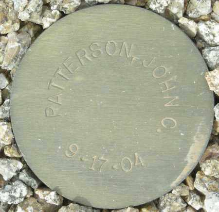 PATTERSON, JOHN C. - Maricopa County, Arizona | JOHN C. PATTERSON - Arizona Gravestone Photos