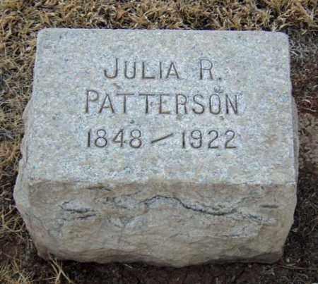 PATTERSON, JULIA R. - Maricopa County, Arizona | JULIA R. PATTERSON - Arizona Gravestone Photos
